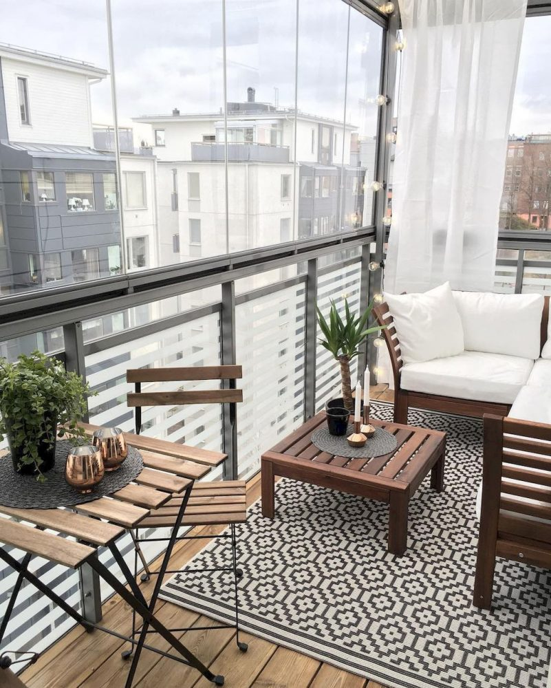 Cozy Apartment Patio Ideas